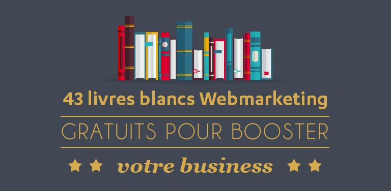 43 livres blancs sur le webmarketing